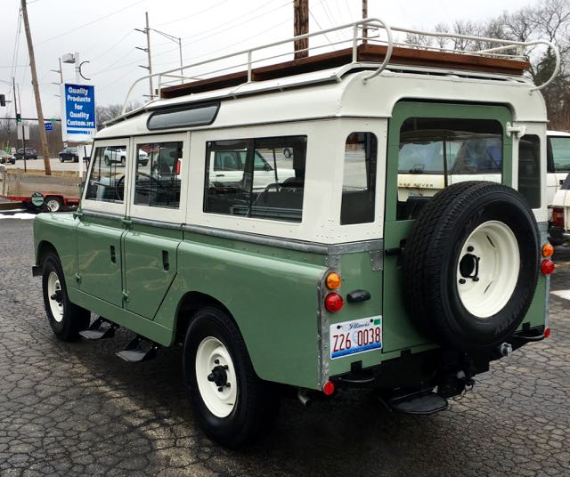 1965 Land Rover Series LlA 109