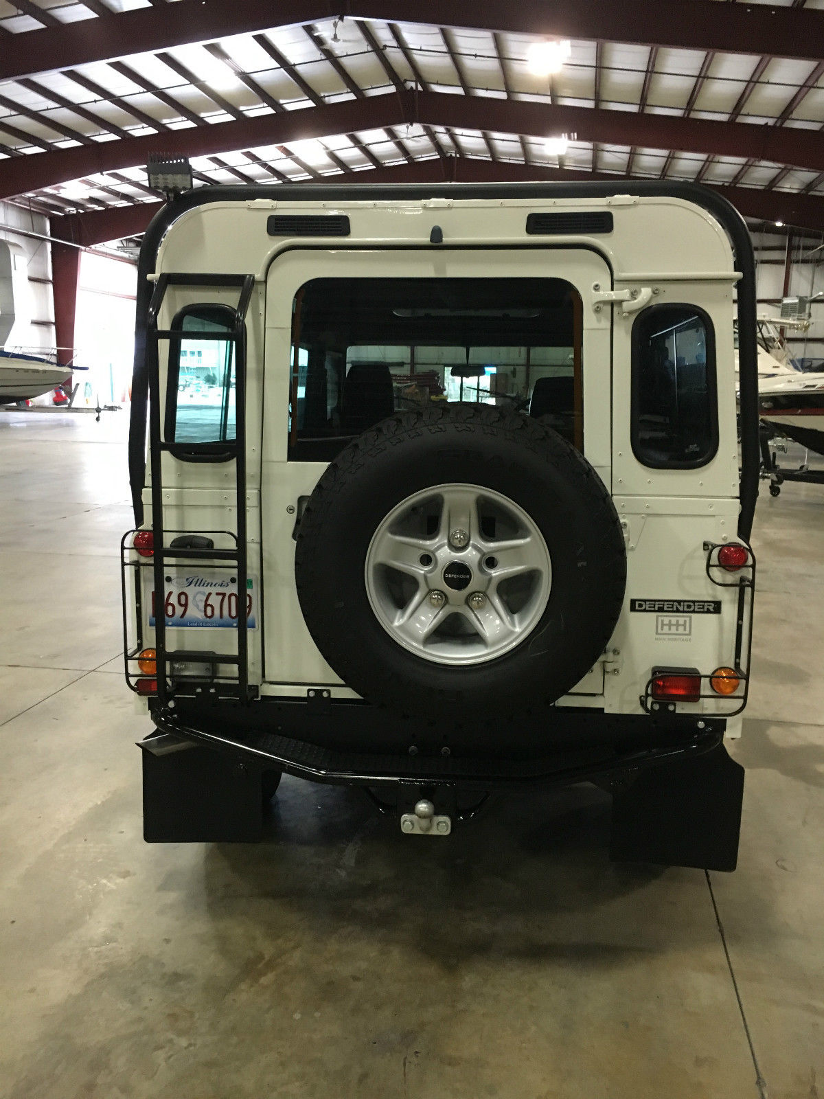 Hhh Heritage 1988 Defender 110 With Roll Cage Alloy